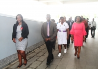 Regional minister tour to the Ridge Hospital